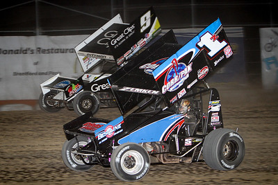 WoO Sprints, Ohsweken Speedway, Ohsweken, ON, July 28, 2015