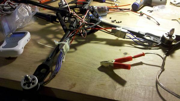 Quadcopter Build Photos