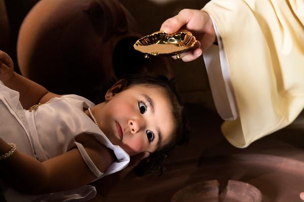 Lilliana's Baptism  Christ the King Oct 25 2020