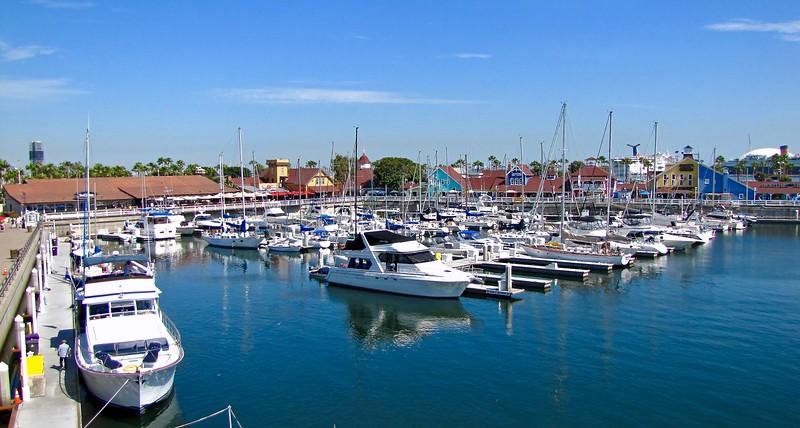 Shoreline Village Marina in Long Beach (2010)