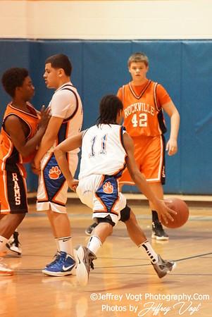 02-01-2012 Watkins Mill HS vs Rockville HS JV Boys Basketball, Photos by Jeffrey Vogt Photography