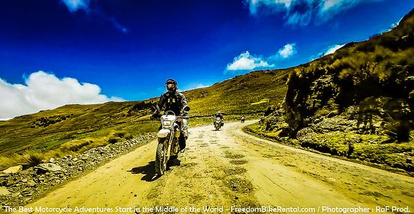 Offroad Ecuador 4 days Tour February 2015