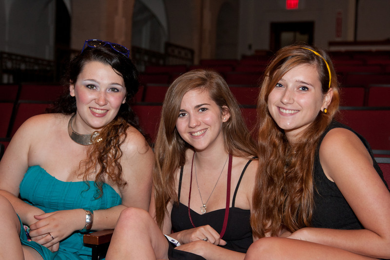 """New Players Company with alumni, family and friends present """"Songs for a Summer Night"""" at Ridgewood High School theater on 6/23/2012"""