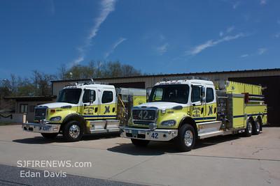 Malaga (Gloucester County). New Engine 43-41