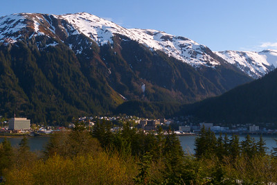View of Juneau from Douglas Island May 2013, Cynthia Meyer, Juneau, Alaska