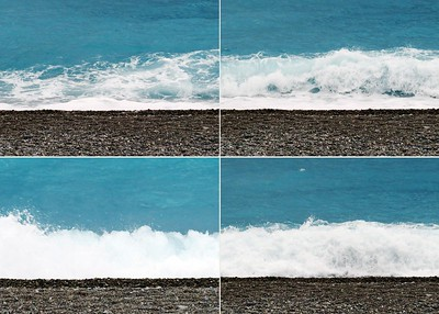 """""""rolling waves"""" (photography) by Paul Delpani"""