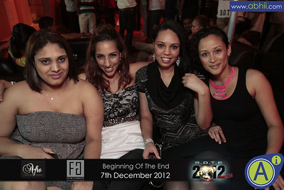Afro Lounge - 7th December 2012