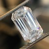 3.04ct Emerald Cut Diamond, GIA F VS1 8