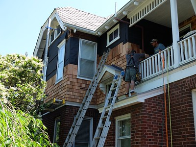House Projects, new shingles in 2016