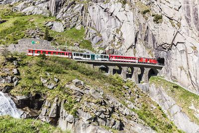 Gotthard und Val Verzasca