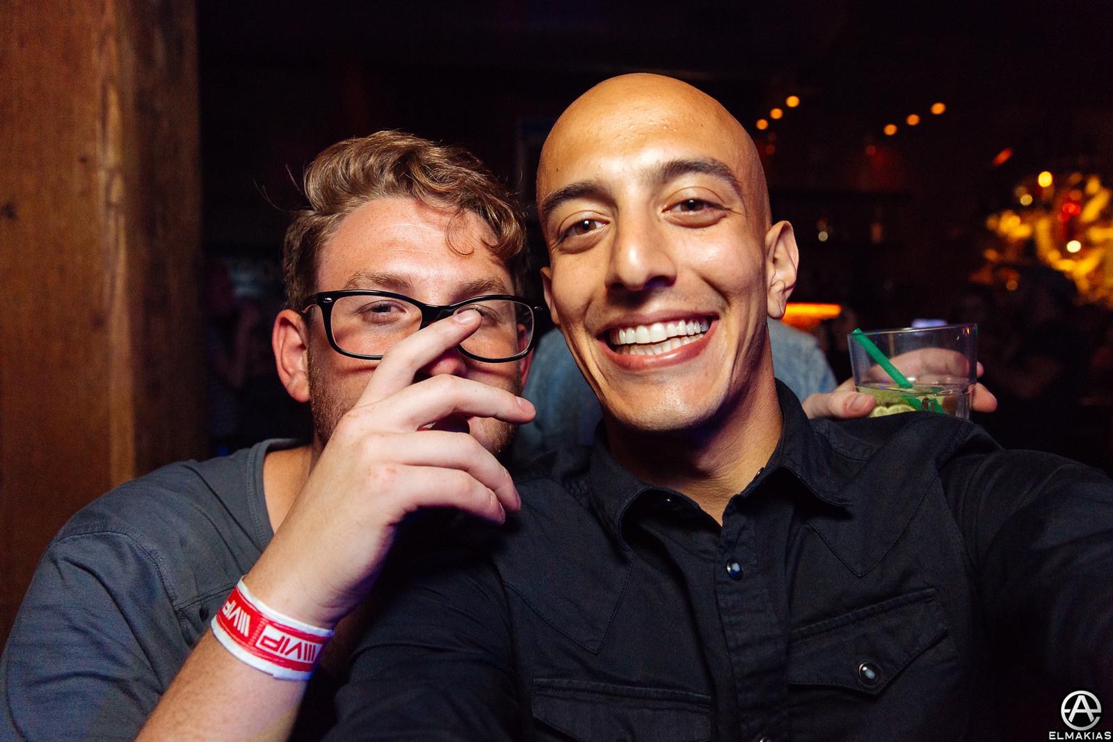 Adam Elmakias and Thomas Falcone at the 2015 APMAs by Adam Elmakias