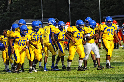 Carver Football scrimmage 2012
