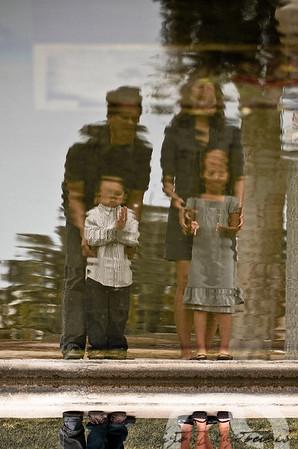 Michelle, Louie, & Kids Family Portraits