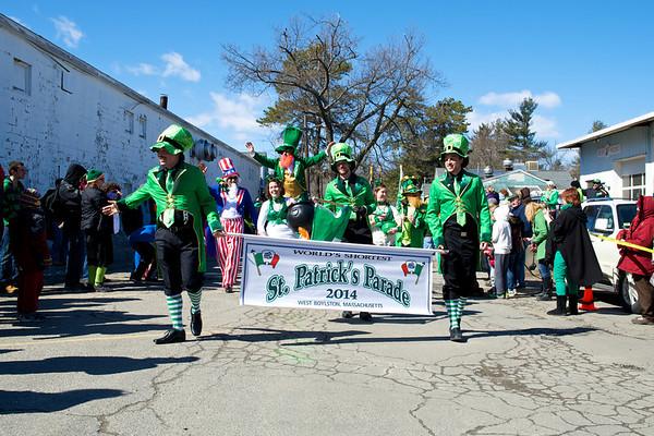 West Boylston St. Patrick's Day Parade - 2014