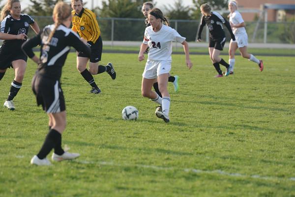 Varsity Girls Soccer vs Blair