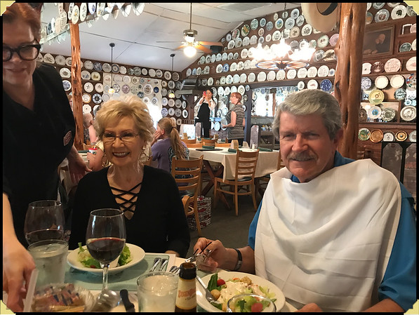 Lunch with Ed & Vicki and Johnnie & Lynda