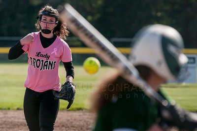 Sehome at Meridian Softball 140507