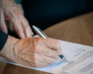 Law ITESO signing