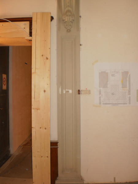 Pilaster  Nordwand Vorzustand Sequenz 1 PICT0079