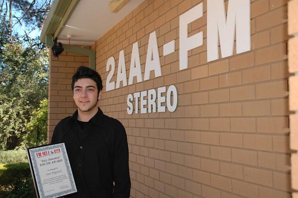 12/9/06 Jazz Junction Youth Award winner for 2006