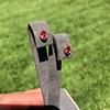.79ctw Oval Padparadscha Sapphire Bezel Stud Earrings 12