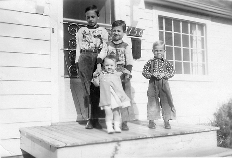 1953-Nov Griffin Children-LeRoy Don Glenn Irene.jpg