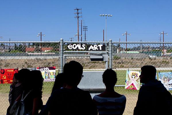 eCALS End of Year Art Exhibit 2013