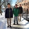 2018-01-14 UVM College Visit Burlington Winter Snow V(13) Wyatt Raf Mike