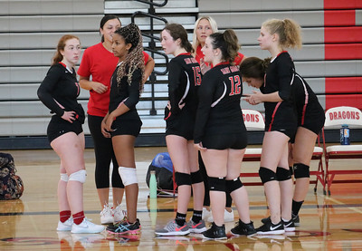 US Volleyball JV vs UCA 9-6-18