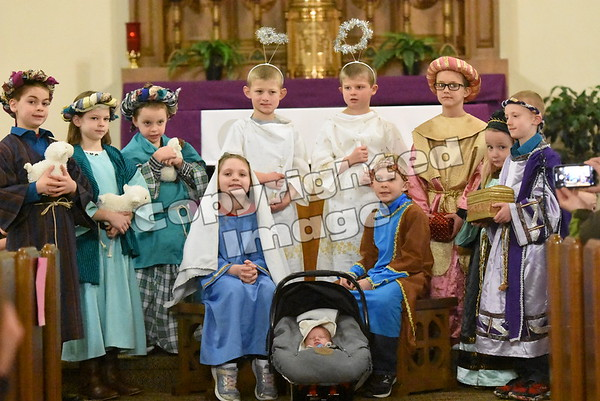 St. John's - St. Andrew's Christmas Pageant