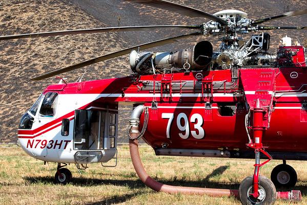 Beaver Creek Fire: Air-Crane Tour (2013)