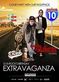 DJ E-Rock's Birthday Extravaganza @ Infusion Lounge 11.12.10