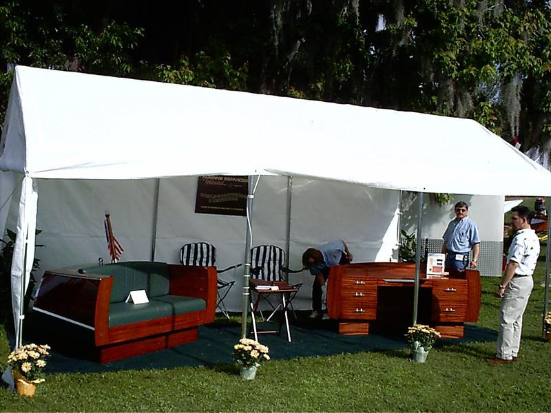 display at MT. Dora boat show