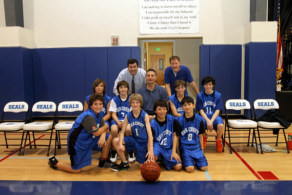 Basketball B team 1.13.11