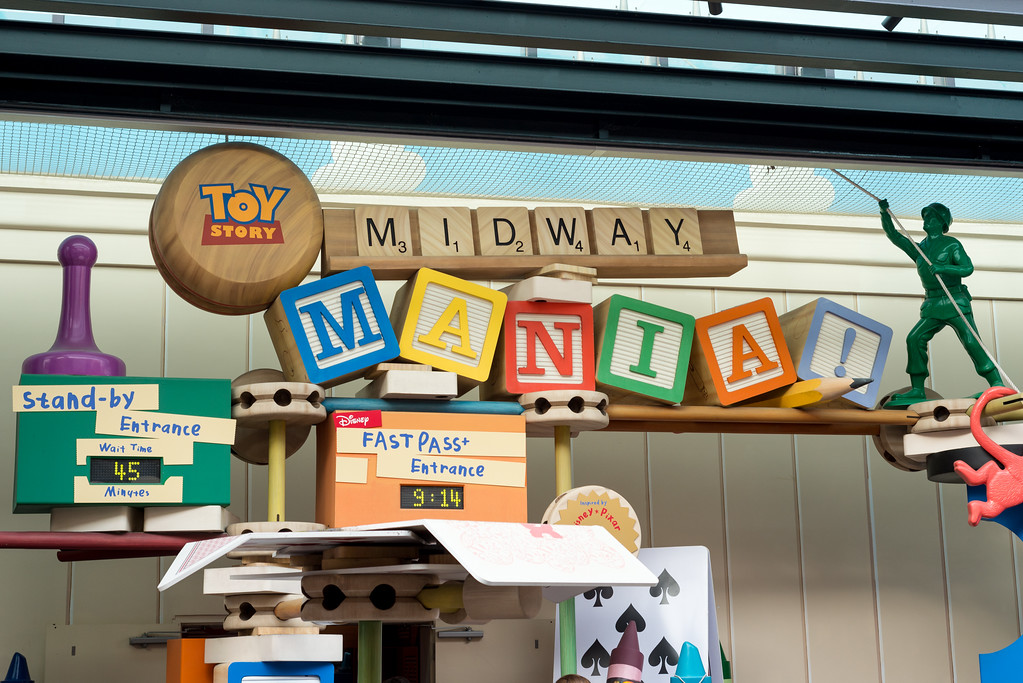 Toy Story Midway Mania - Disney's Hollywood Studios