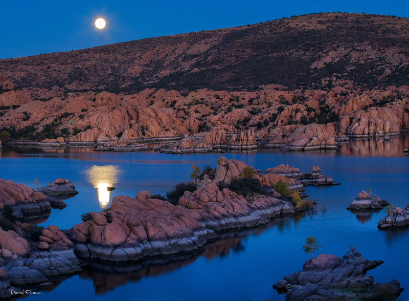 Moonrise Over Watson Lake
