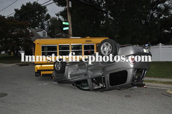 BETHPAGE SCHOOL BUS MVA & O/T SUV 9-20-11