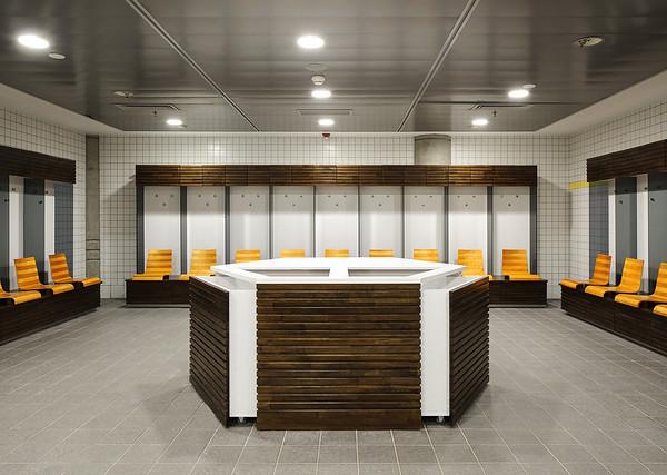 משרדים באצטדיון נתניה. עיצוב פנים: שרית גיטליס