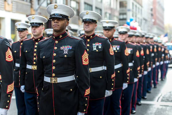 The 95th annual New York City Veteran's Day Parade
