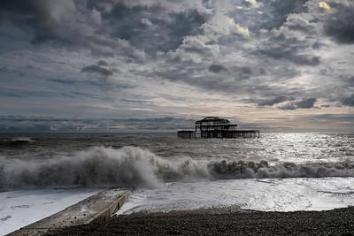 Old Pier, Brighton, UK