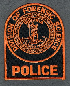 Virginia Division of Forensic Science Police