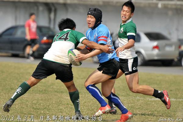 2013年日本郵船橄欖球訪台(NYK visits Taiwan)