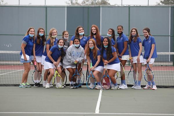 Girls Varsity A Tennis - 2020