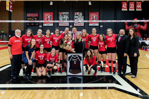 2017 Seattle U Volleyball vs UMKC