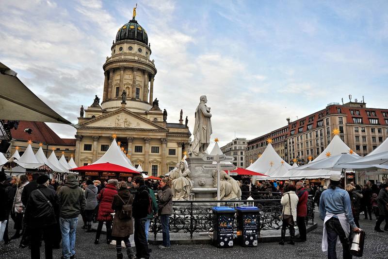 Christmas Fair at Gendarmenmarkt, Berlin.