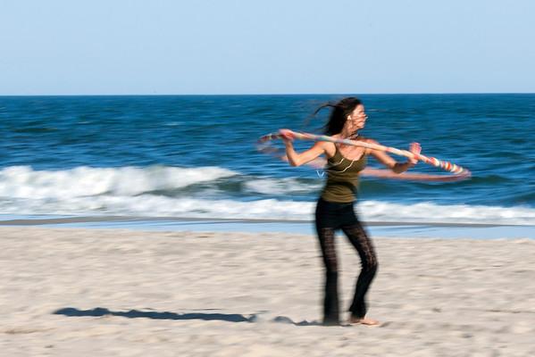Hula Hoops At Long Beach
