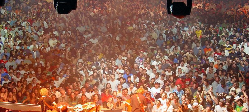 find me again, my tongue is sticking out and I have no idea why  Phish December 1, 2003