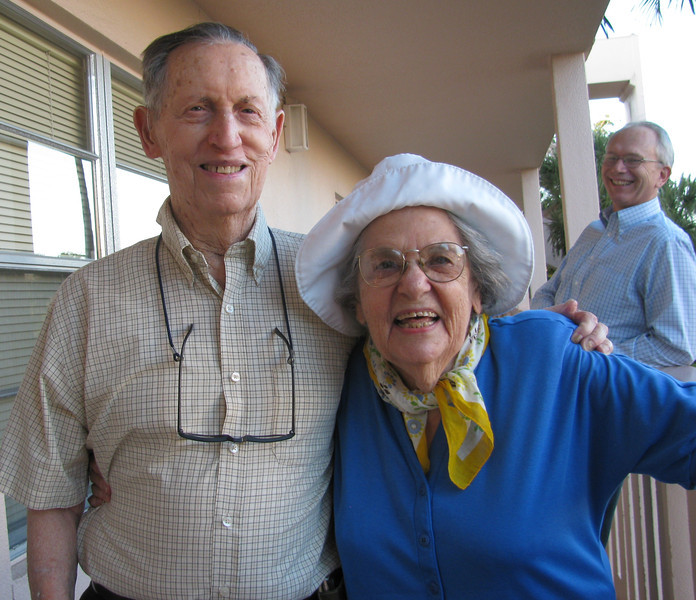 Eli and Nettie, Coconut Creek Florida, 2010