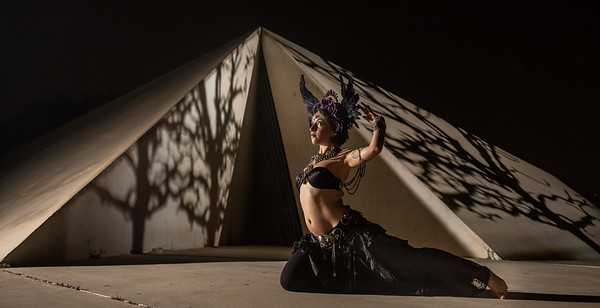 Tribal Structured Lights - w/ Elizabeth Zohar