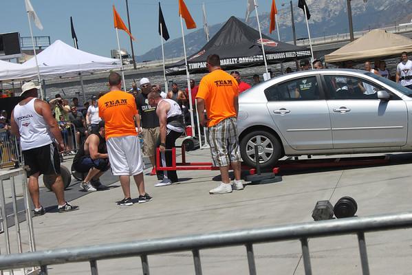 Strong Man at Timp Harley July 2011